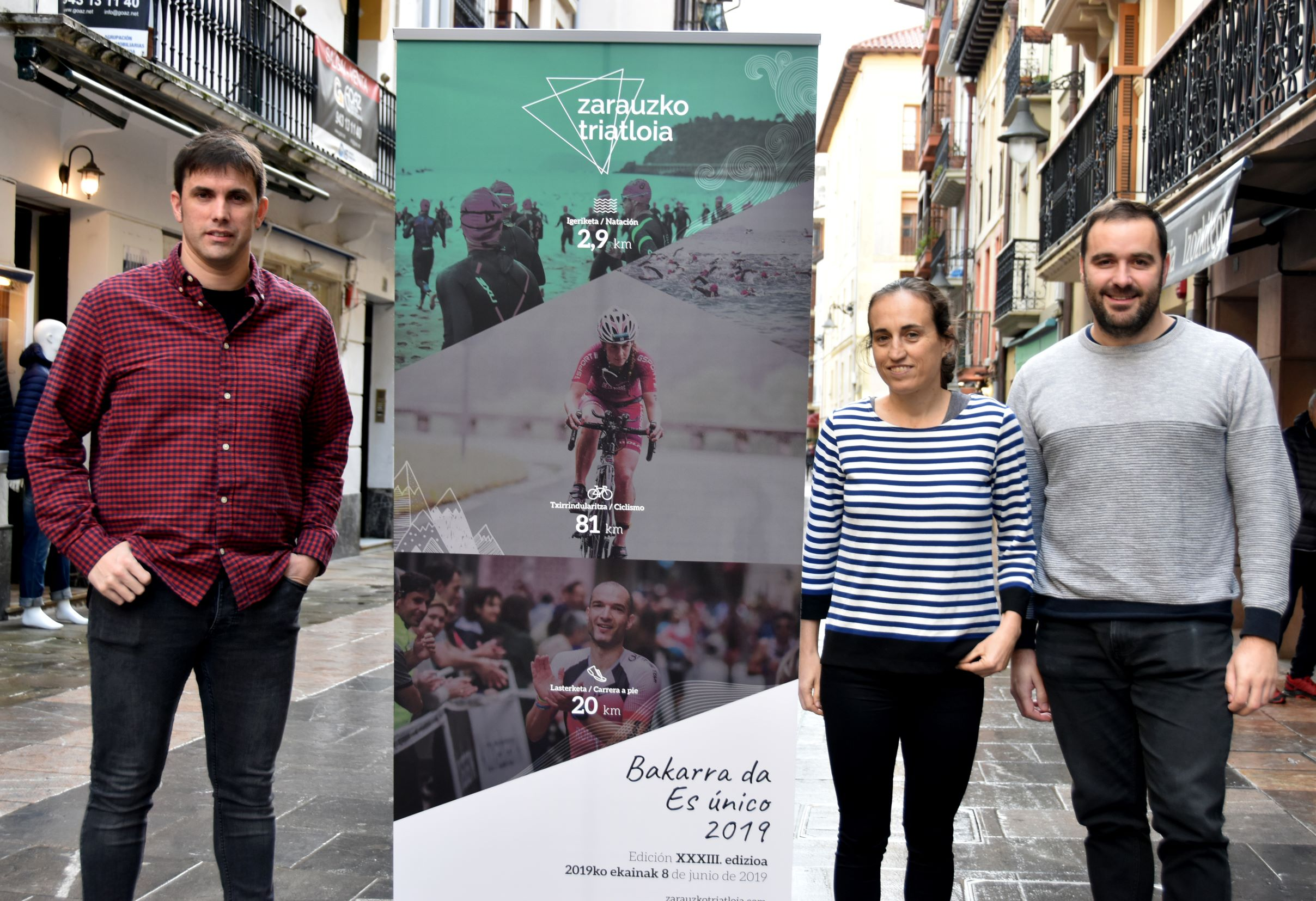 99 Women Will Participate In The 33rd Edition Of Zarauzko Triatloia, 58% More Than Last Year