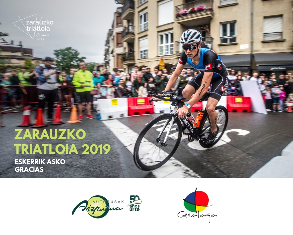 Autocares Aizpurua Et Gesalaga Rejoignent L'équipe Sponsor De Zarauzko Triatloia