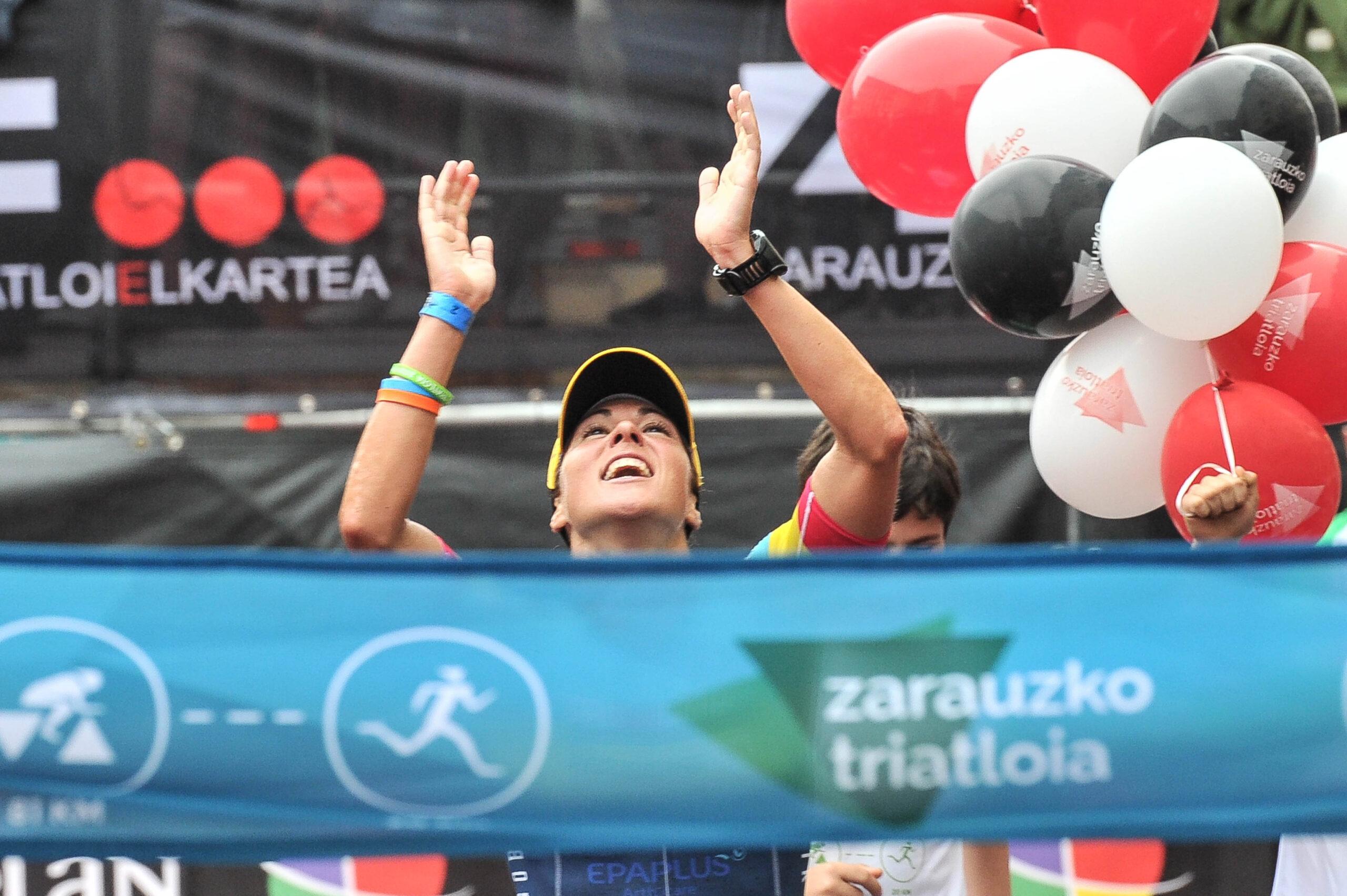 """Judith Corachan: """"La Dureza De La Prueba De La Bici Marca La Diferencia En Zarauzko Triatloia»"""